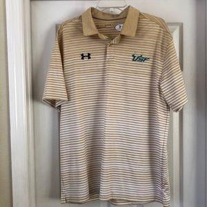 University of South Florida Polo Underarmour XL
